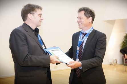 Prof Dr Ivo Mossig (on the left)